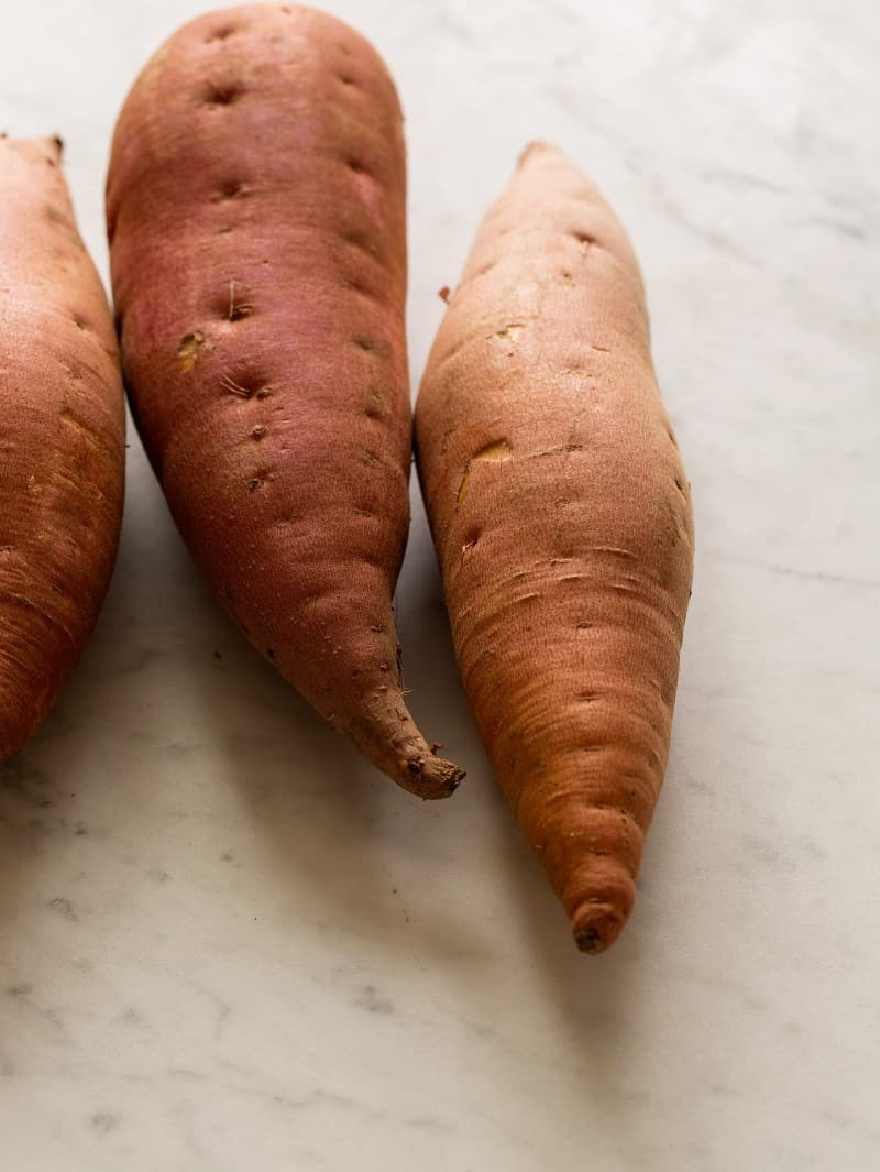 Sweet potatoes for a delicious Sweet Potato Smoothie