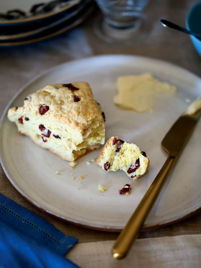 Cranberry and Orange Scones recipe.