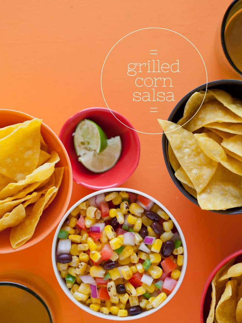 A recipe for Grilled Corn Salsa.