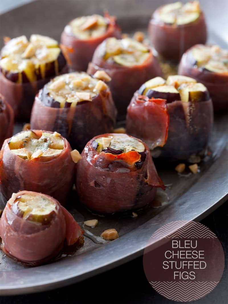 A recipe for Bleu Cheese Stuffed Figs wrapped in Proscuitto.