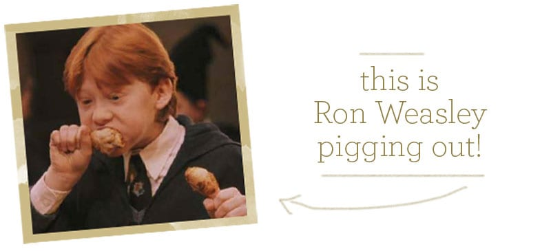 Ron Weasley recipe.