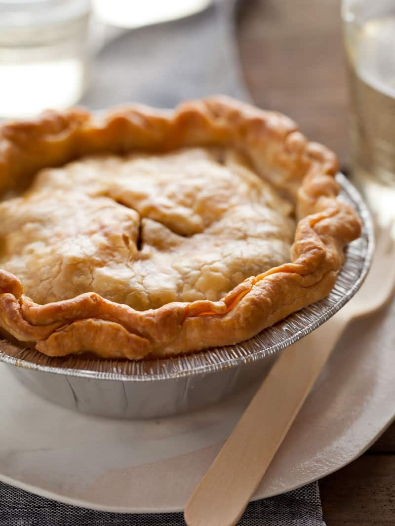A recipe for Everything But the Kitchen Sink Pie.