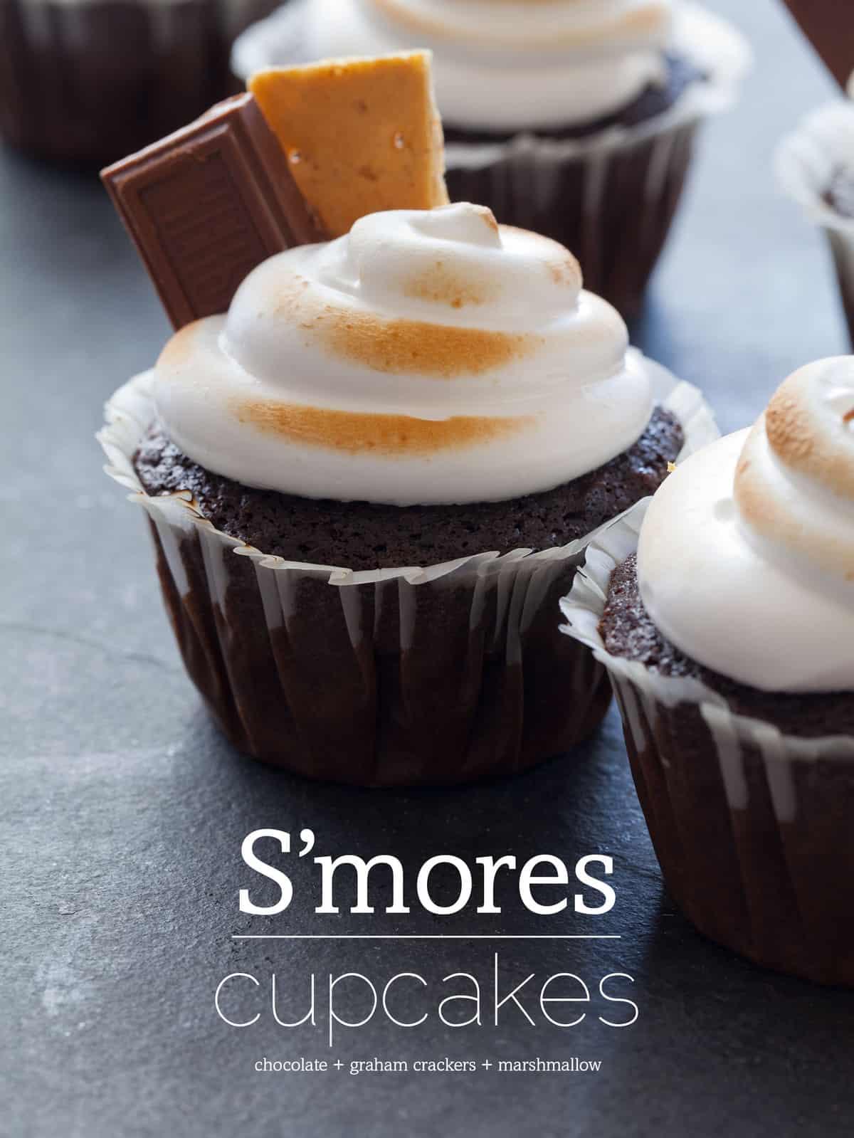 s mores cupcakes recipe
