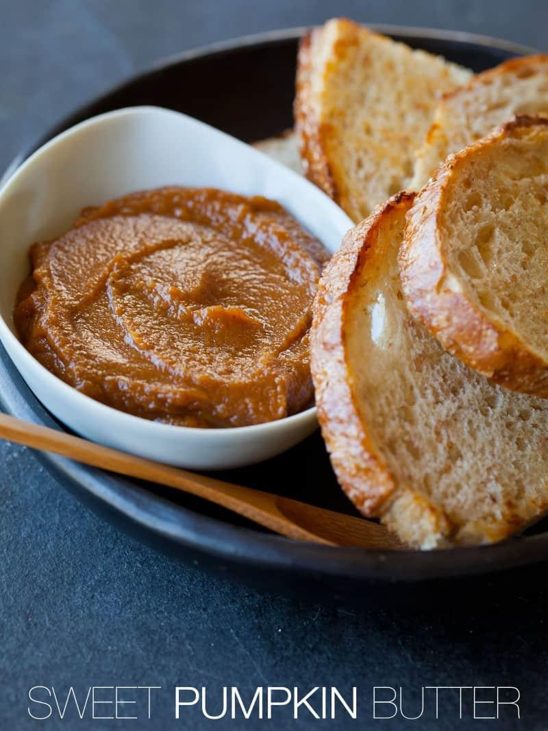 A recipe for Sweet Pumpkin Butter.