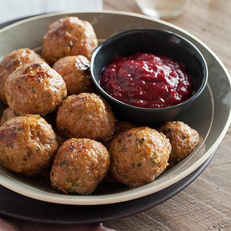 herbed-turkey-meatballs-barbeque-cranberry-sauce-index