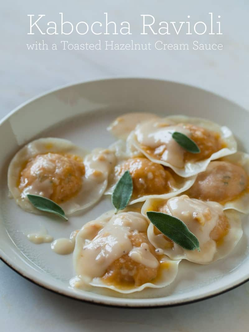 A recipe for Kabocha Ravioli.