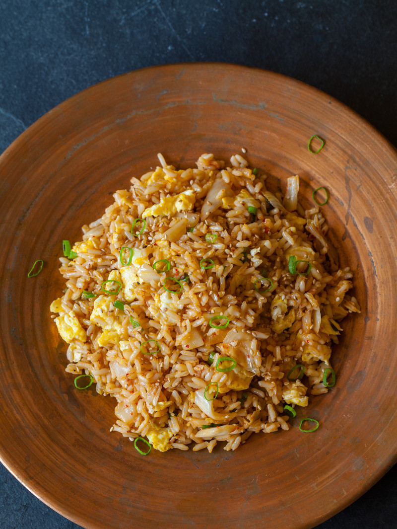 A recipe for Kimchi Fried Rice