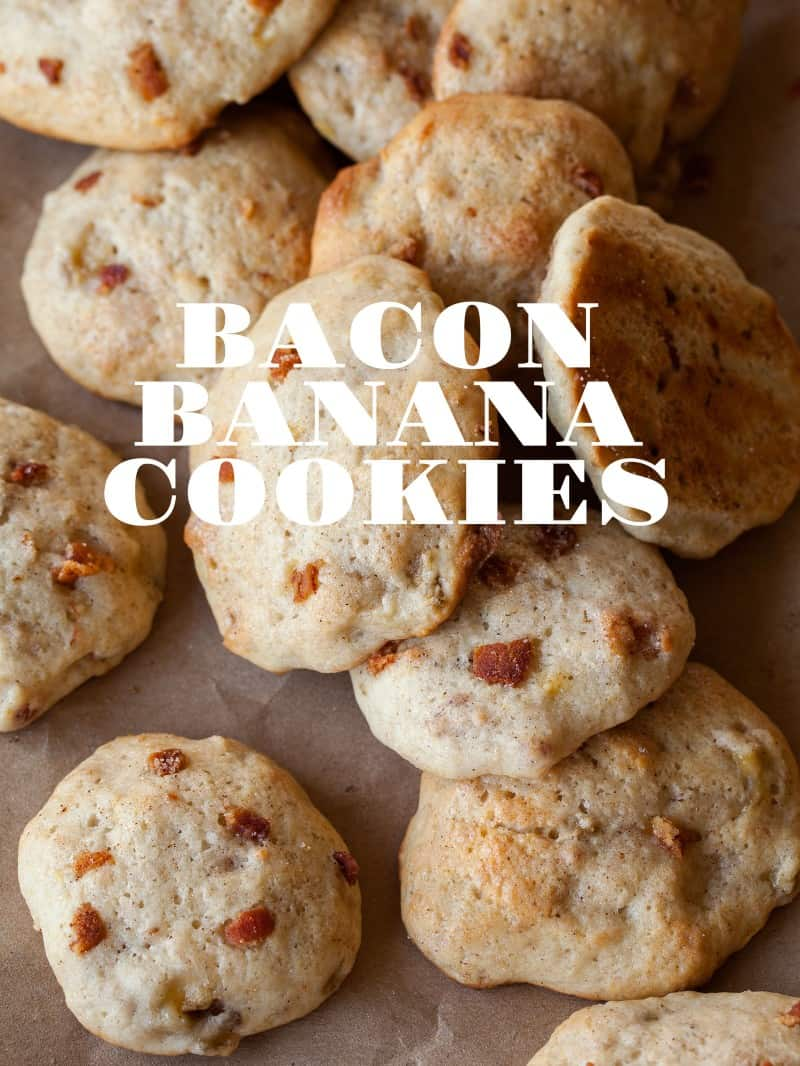 A recipe for Bacon Banana Cookies