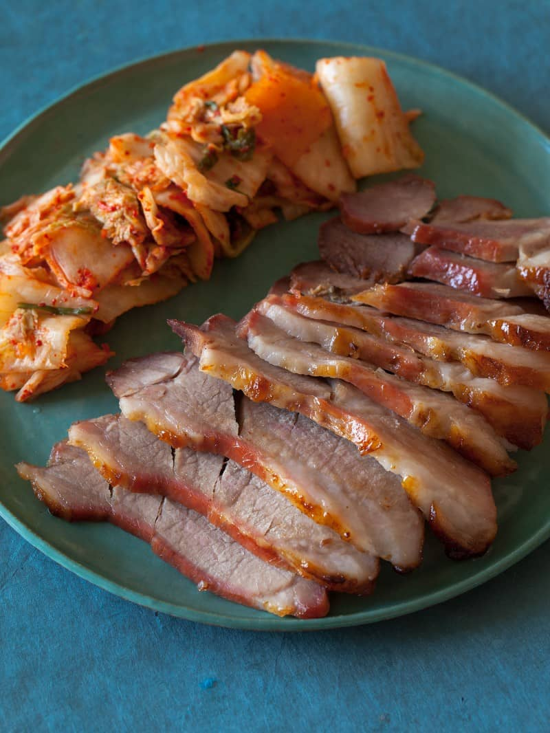 A recipe for a Korean dish called Bo Ssam