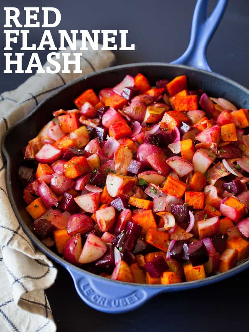 A recipe for Red Flannel Hash.