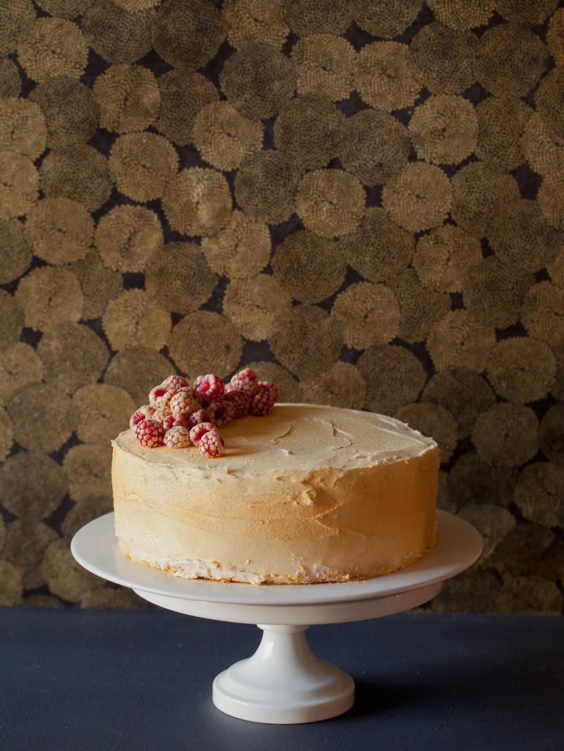 Rose Water Glitter Cake recipe.