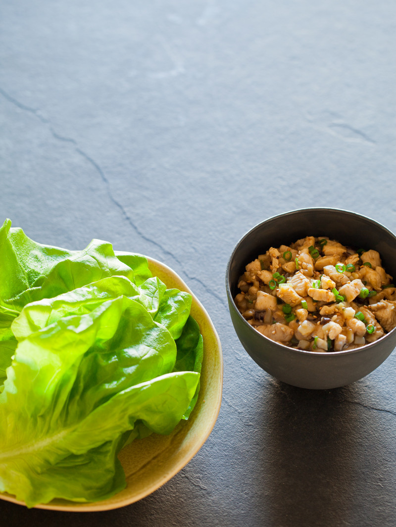 A recipe for Chicken Lettuce Wraps.