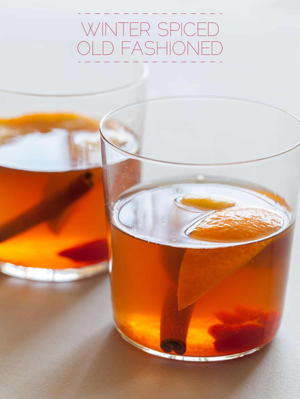 Perfect old fashioned cocktail 19