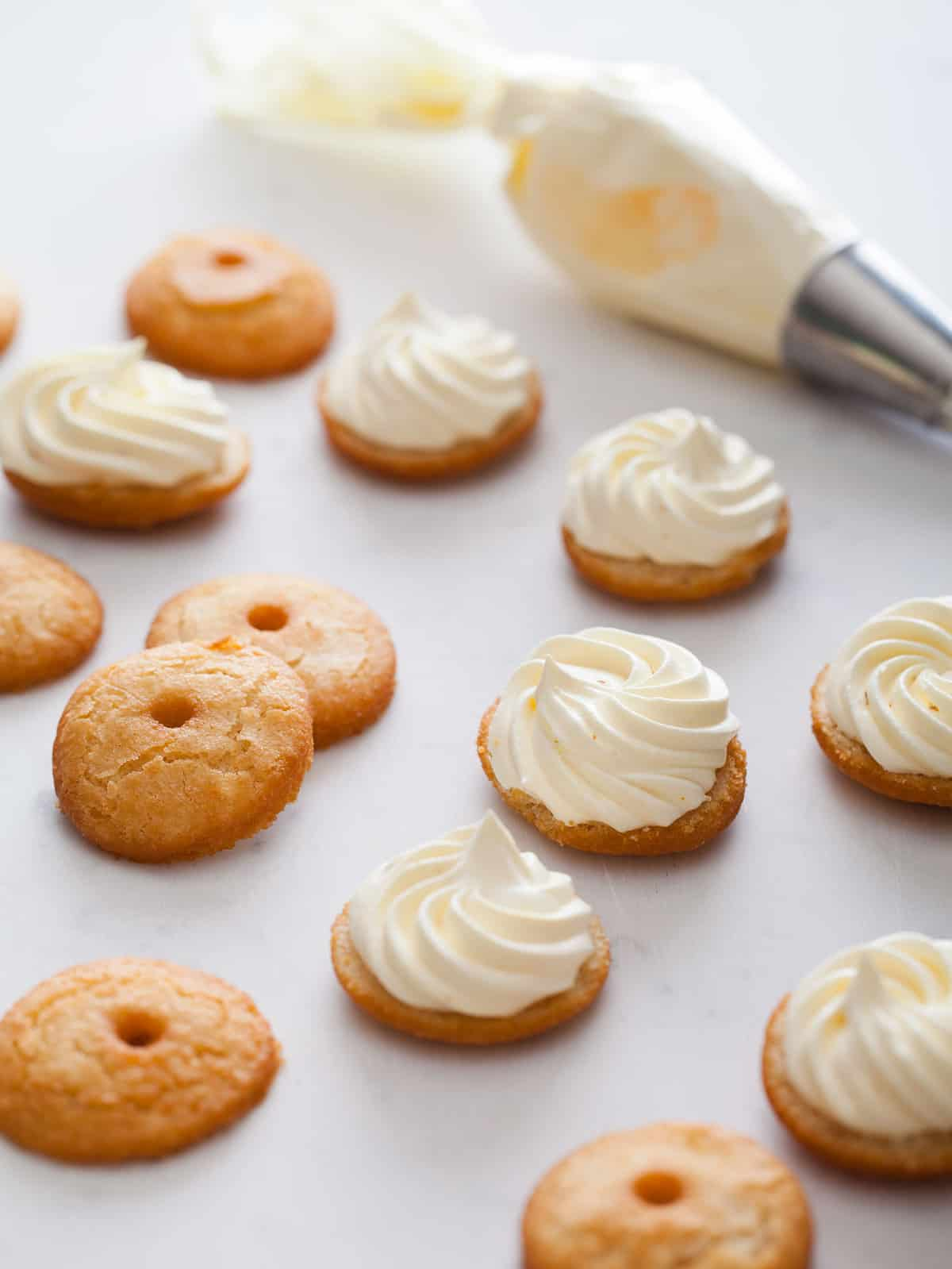 cream puff doughnuts doughnut recipe spoon fork bacon