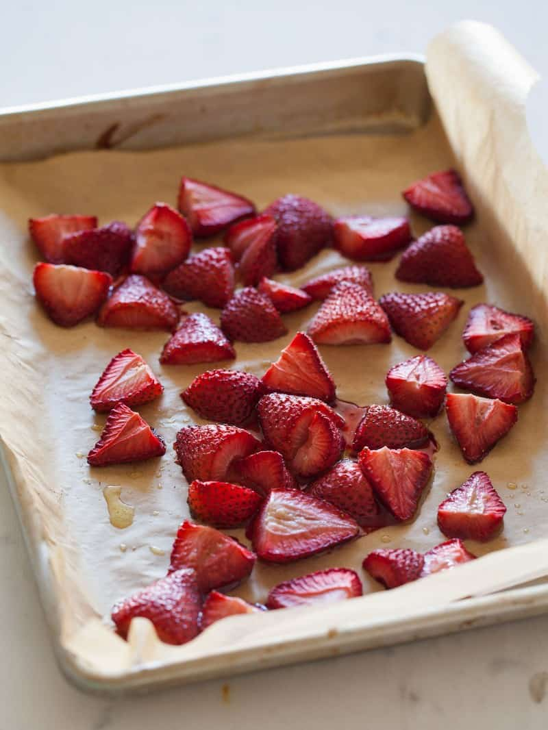 Roasted Strawberries.