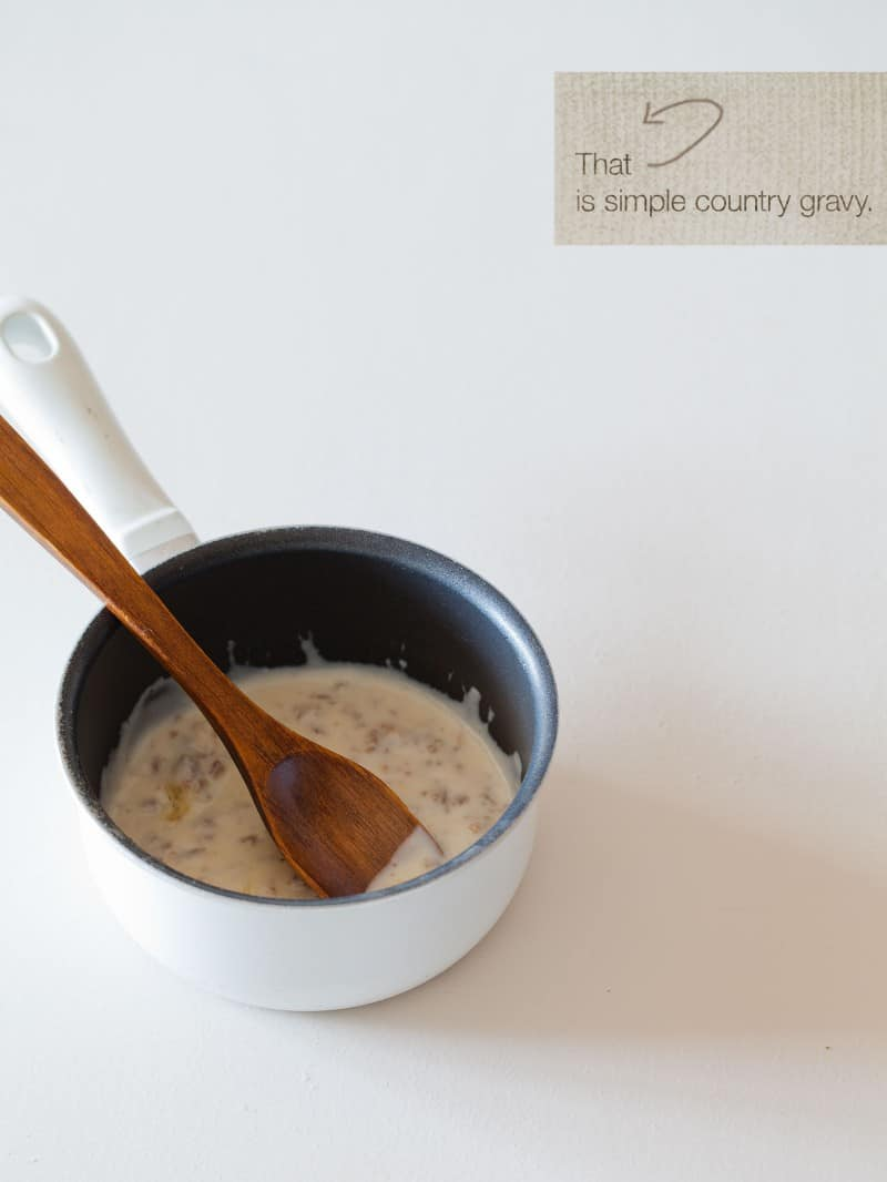 Country Style Eggs Benedict recipe