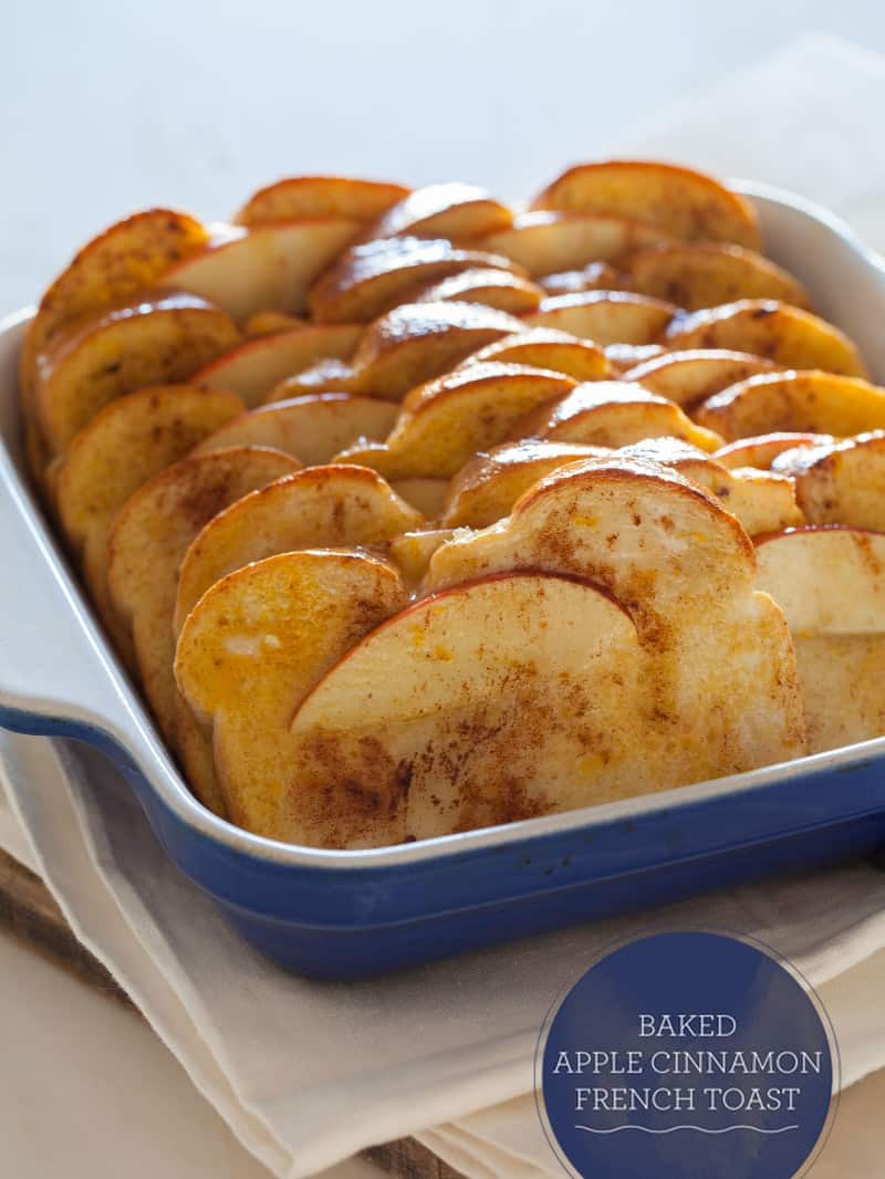 Baked Apple Cinnamon French Toast | Spoon Fork Bacon