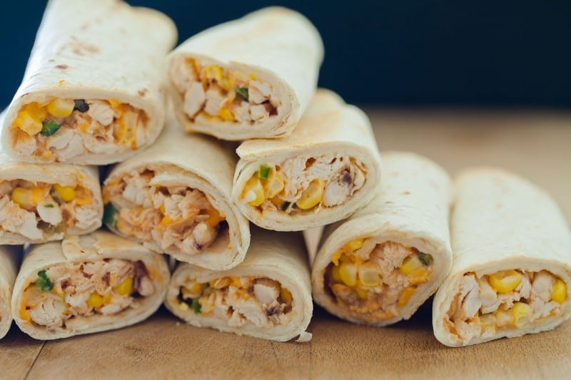 A recipe for Baked Chicken Flautas. Perfect for dinner or even an appetizer.
