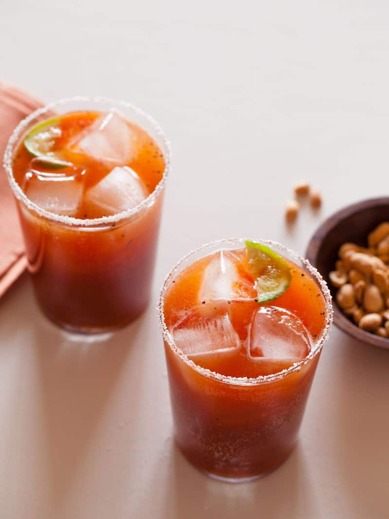 Spicy Michelada recipe.