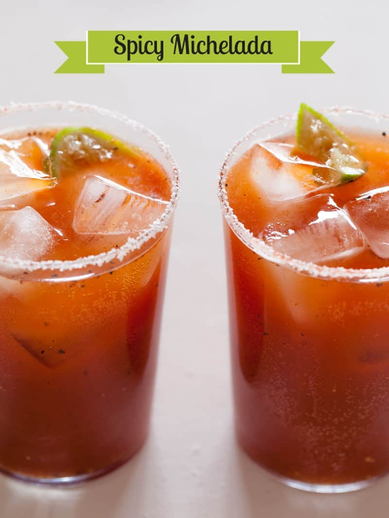 A recipe for Spicy Michelada.