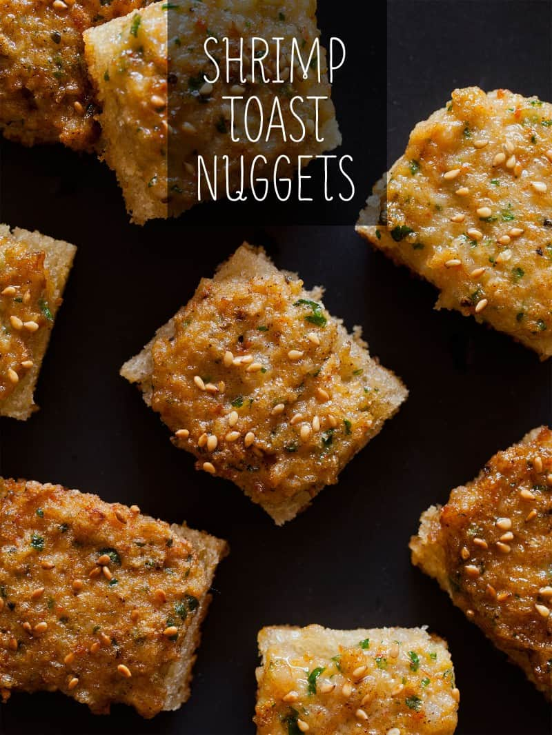 Shrimp Toast Nuggets recipe