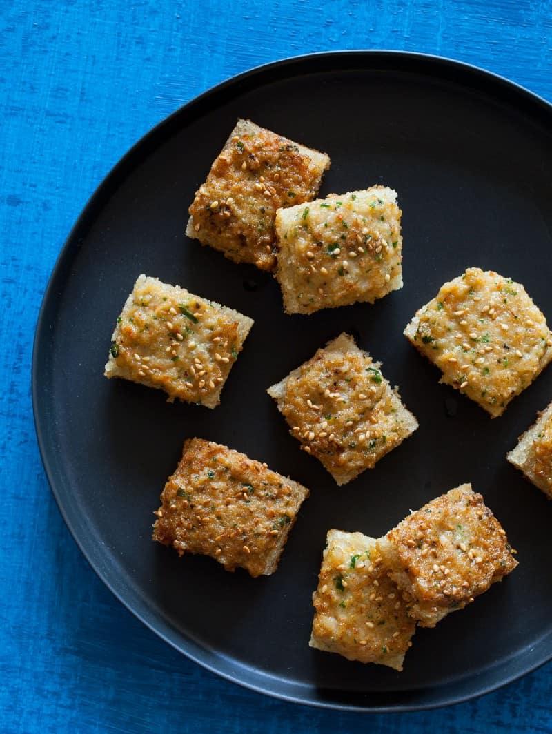 A recipe for Shrimp Toast Nuggets.