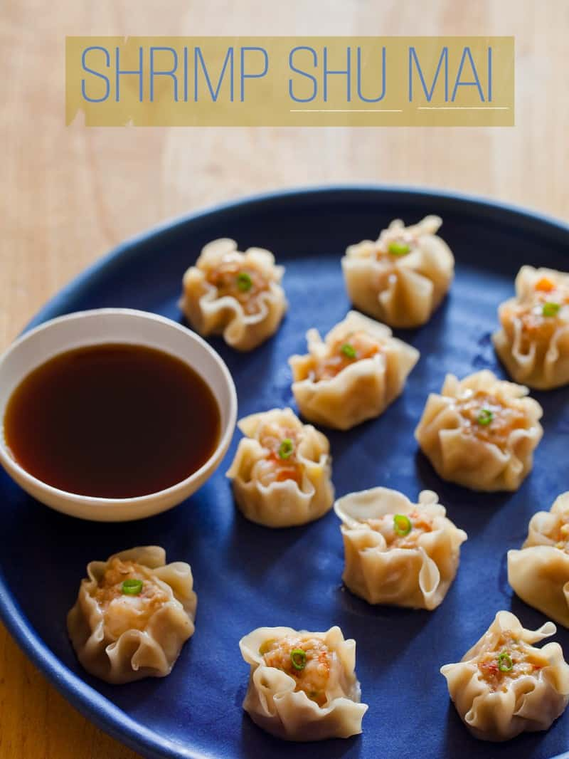 A recipe for Shrimp Shu Mai.
