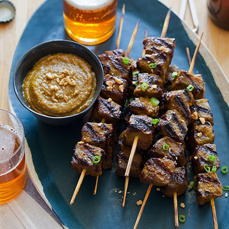 Beef Satay | Beef recipe | Spoon Fork Bacon