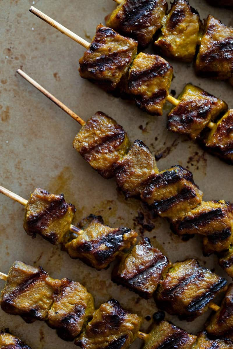Beef Satay | Beef recipe | Spoon Fork Bacon