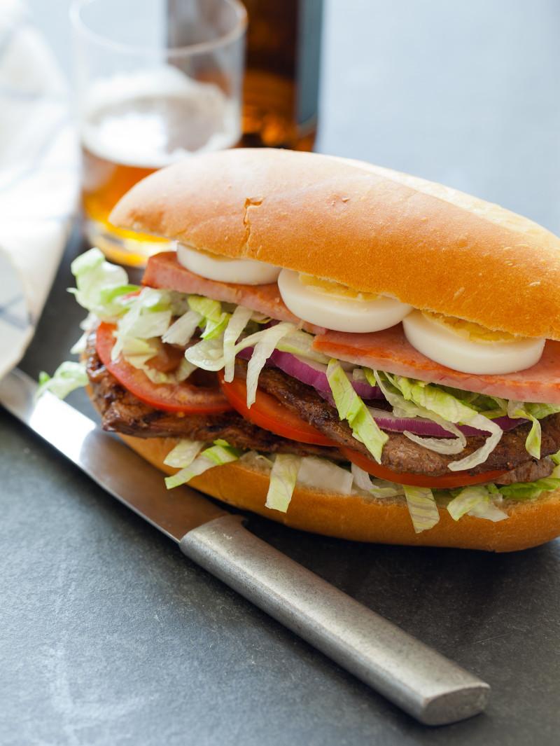 A recipe for a delicious Steak Sandwich.
