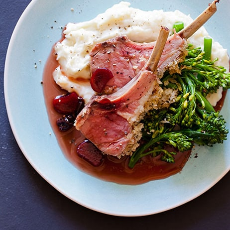 Quick & Simple Roasted Rack Of Lamb Recipe — Dishmaps