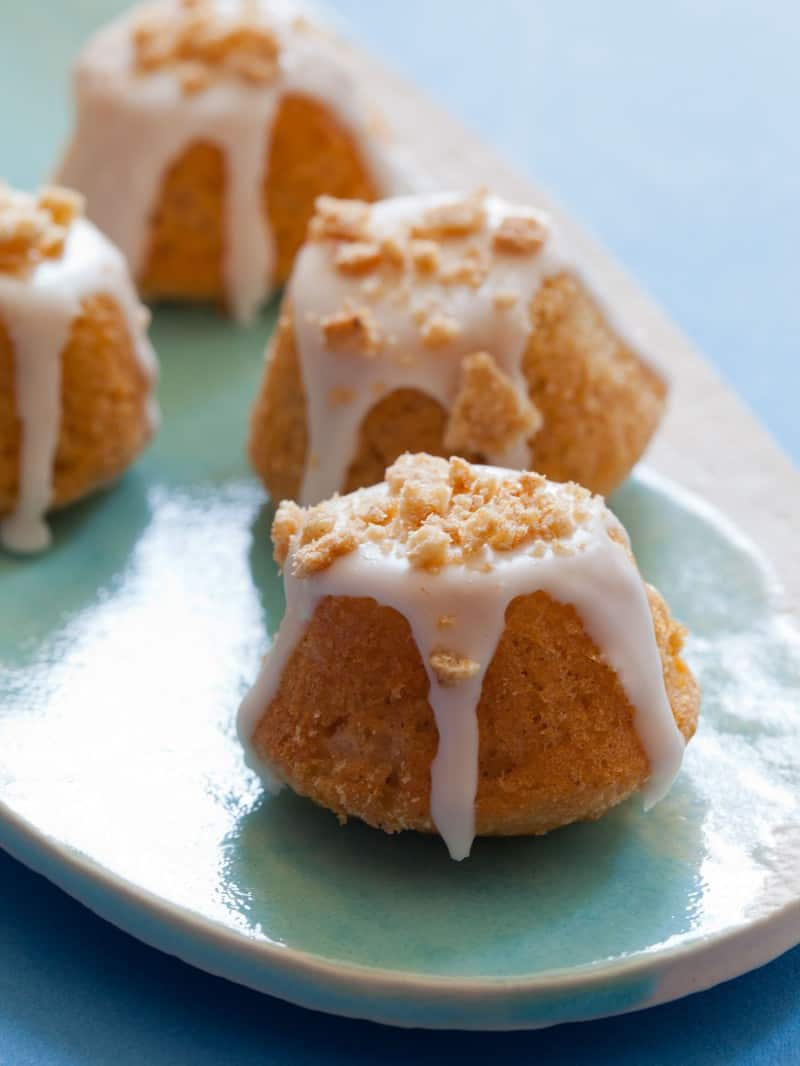 Cinnamon Toast Crunch Coffee Cake Bites.
