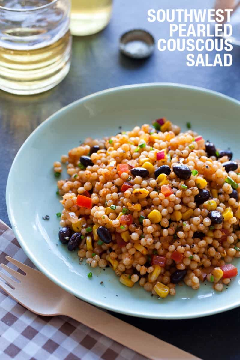 A recipe for Southwest Pearled Couscous Salad.