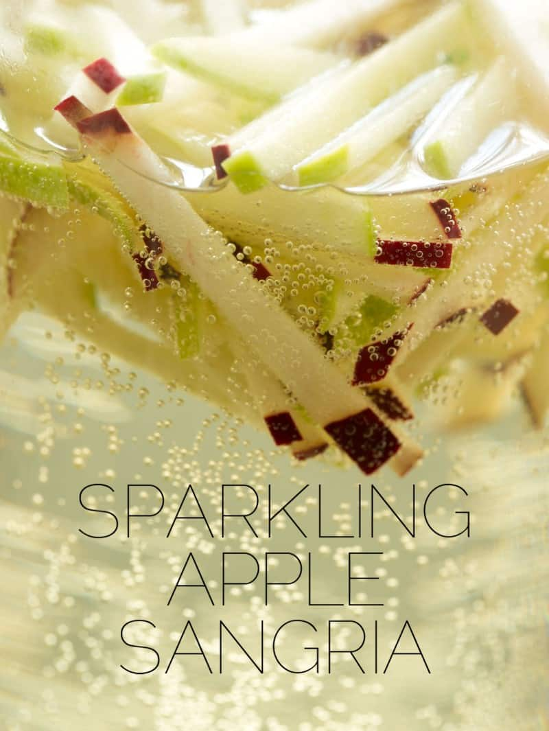 A recipe for Sparkling Apple Sangria.