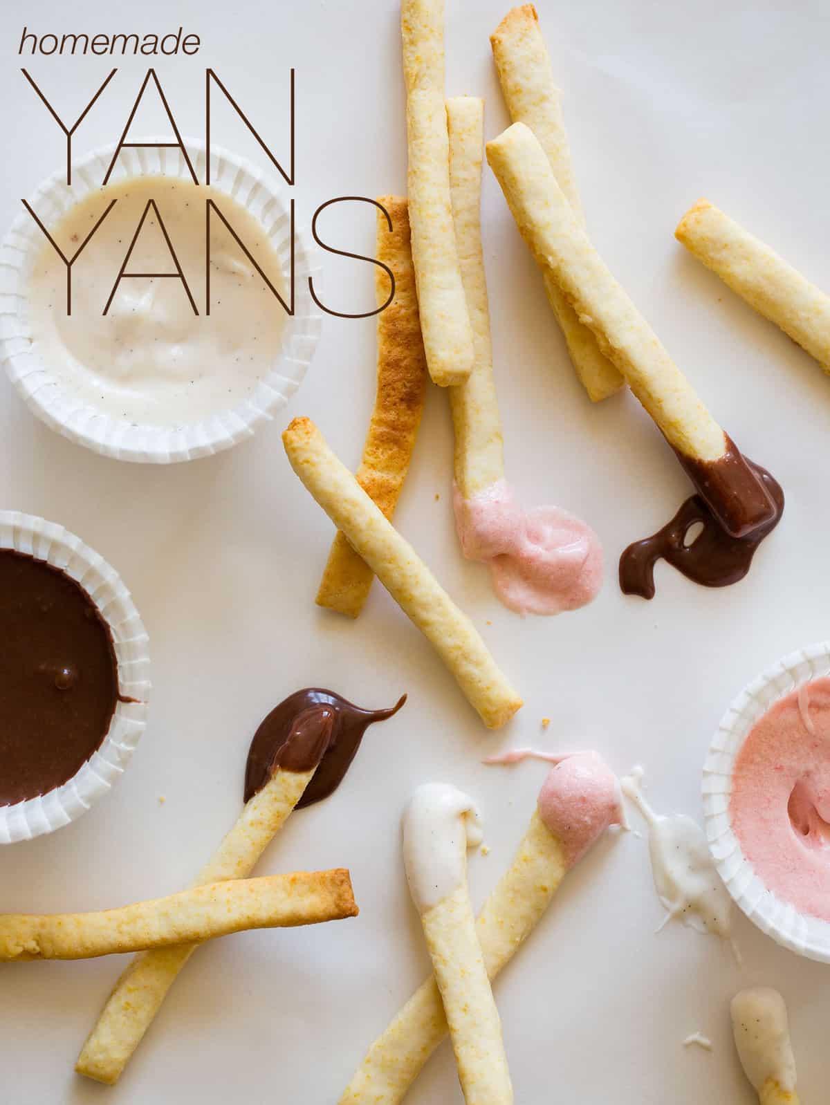 Homemade Yan Yans