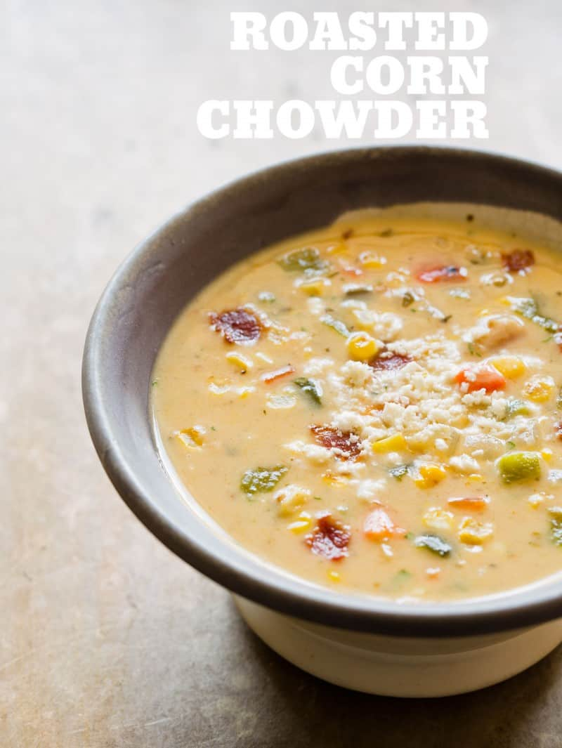 Roasted Corn Chowder recipe.