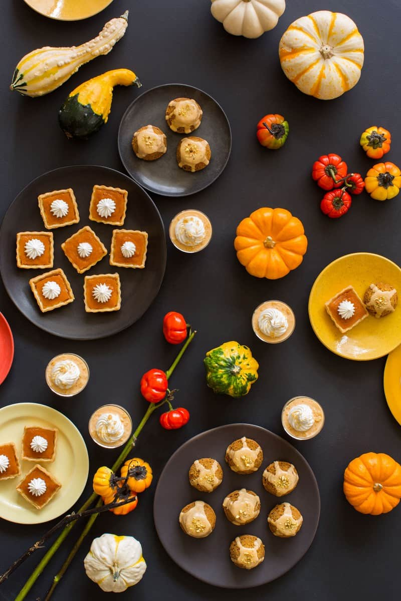 Individual dessert recipes for a Halloween party