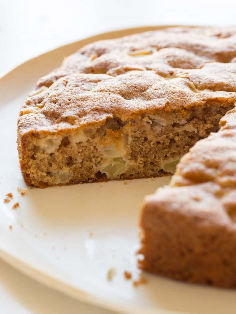 A recipe for Apple Thyme Cake.
