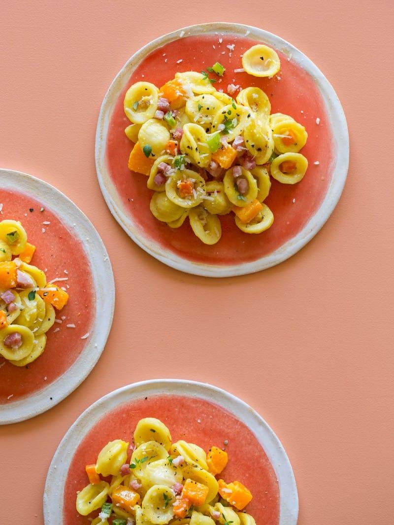 Butternut Squash and Pancetta pasta recipe