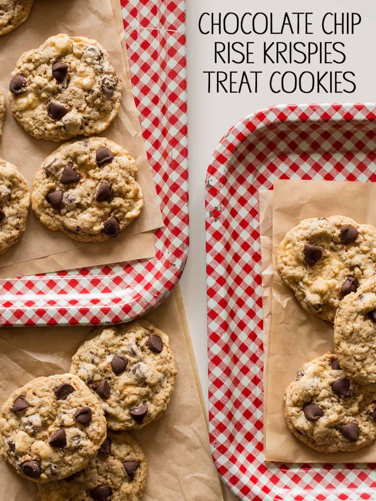 Cookie recipe using rice krispies