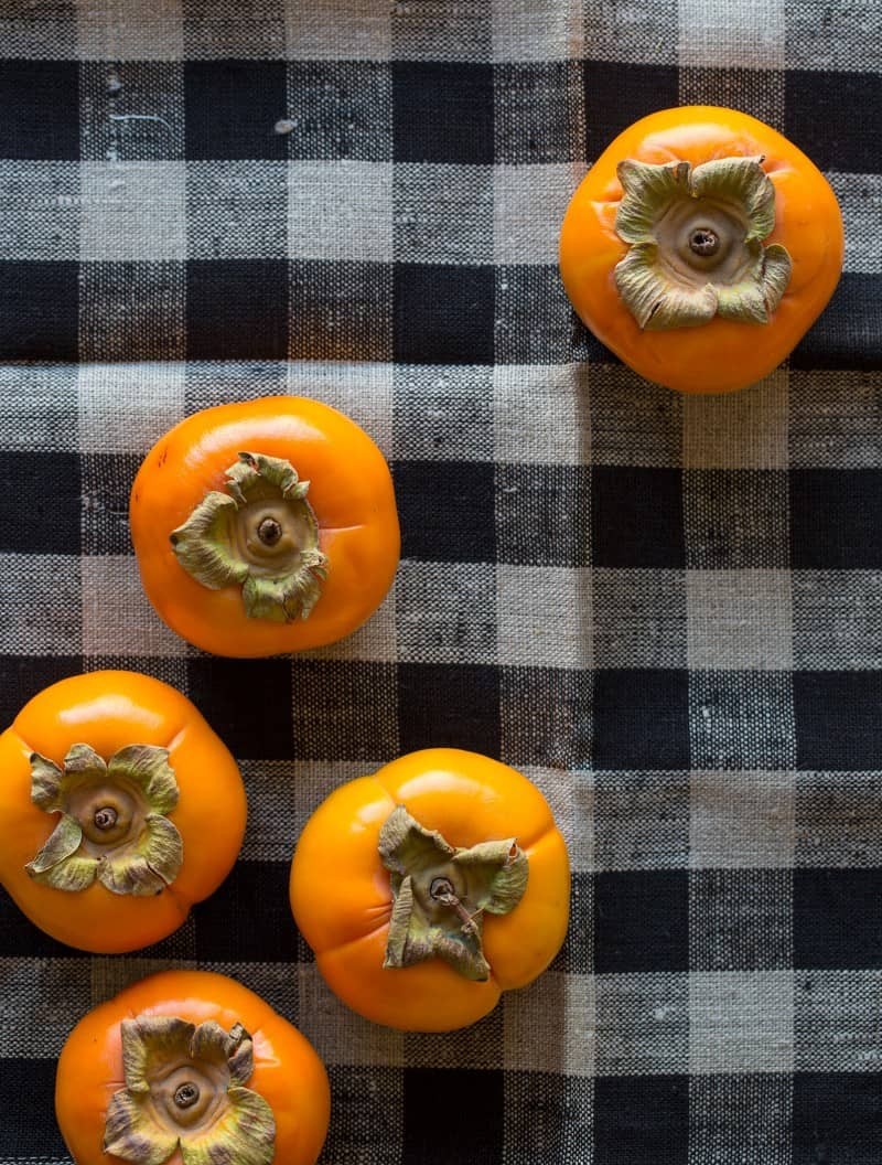 Delicious and spicy persimmons for Persimmon and Squaw Bread Stuffing.