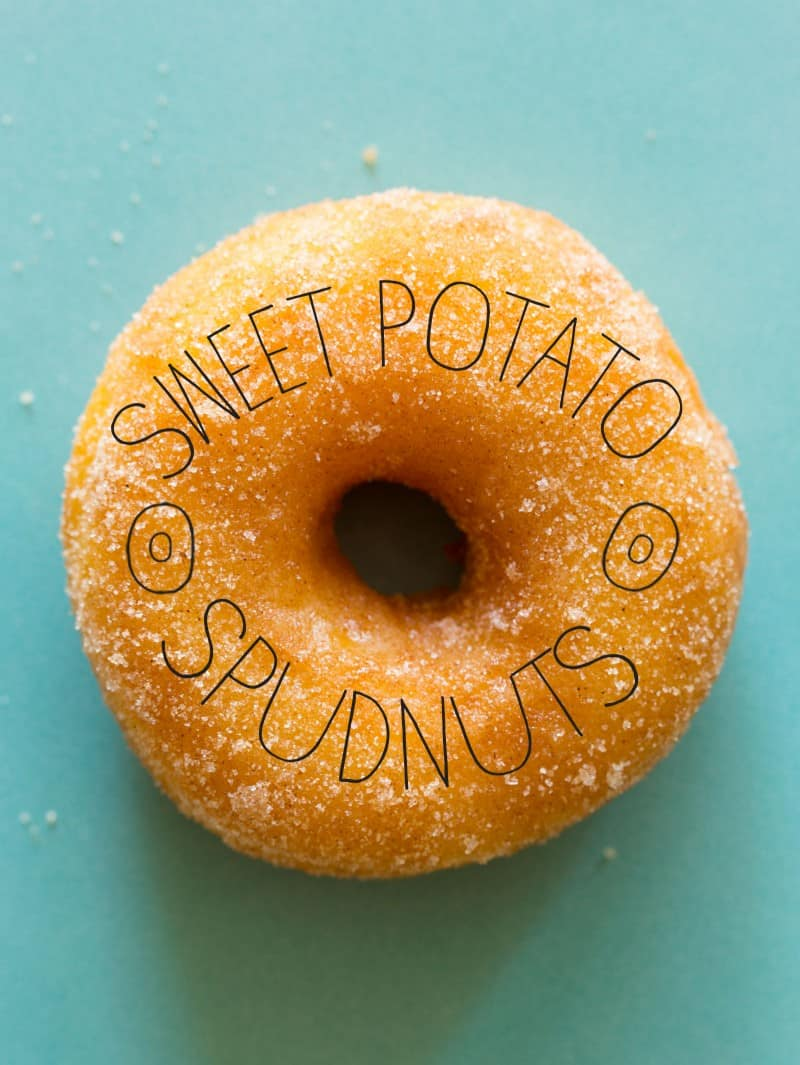 A recipe for Sweet Potato Spudnuts