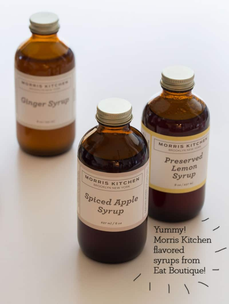 Morris Kitchen Flavored Syrups.