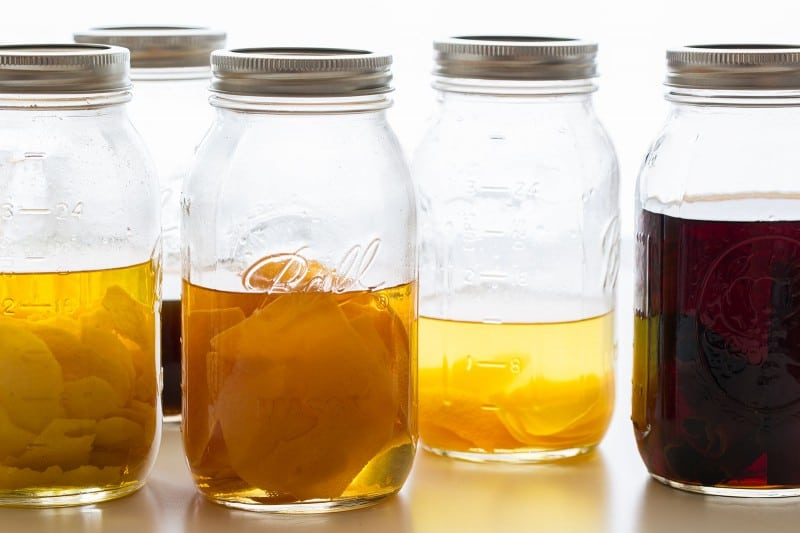 Lemon, vanilla, orange, cinnamon, and grapefruit extracts recipes.