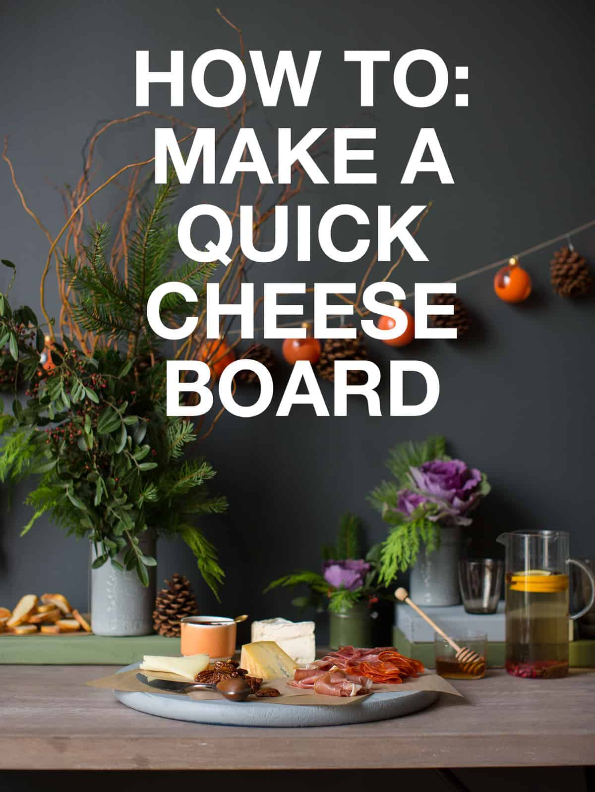 Quick And Easy Cheese Board Spoon Fork Bacon
