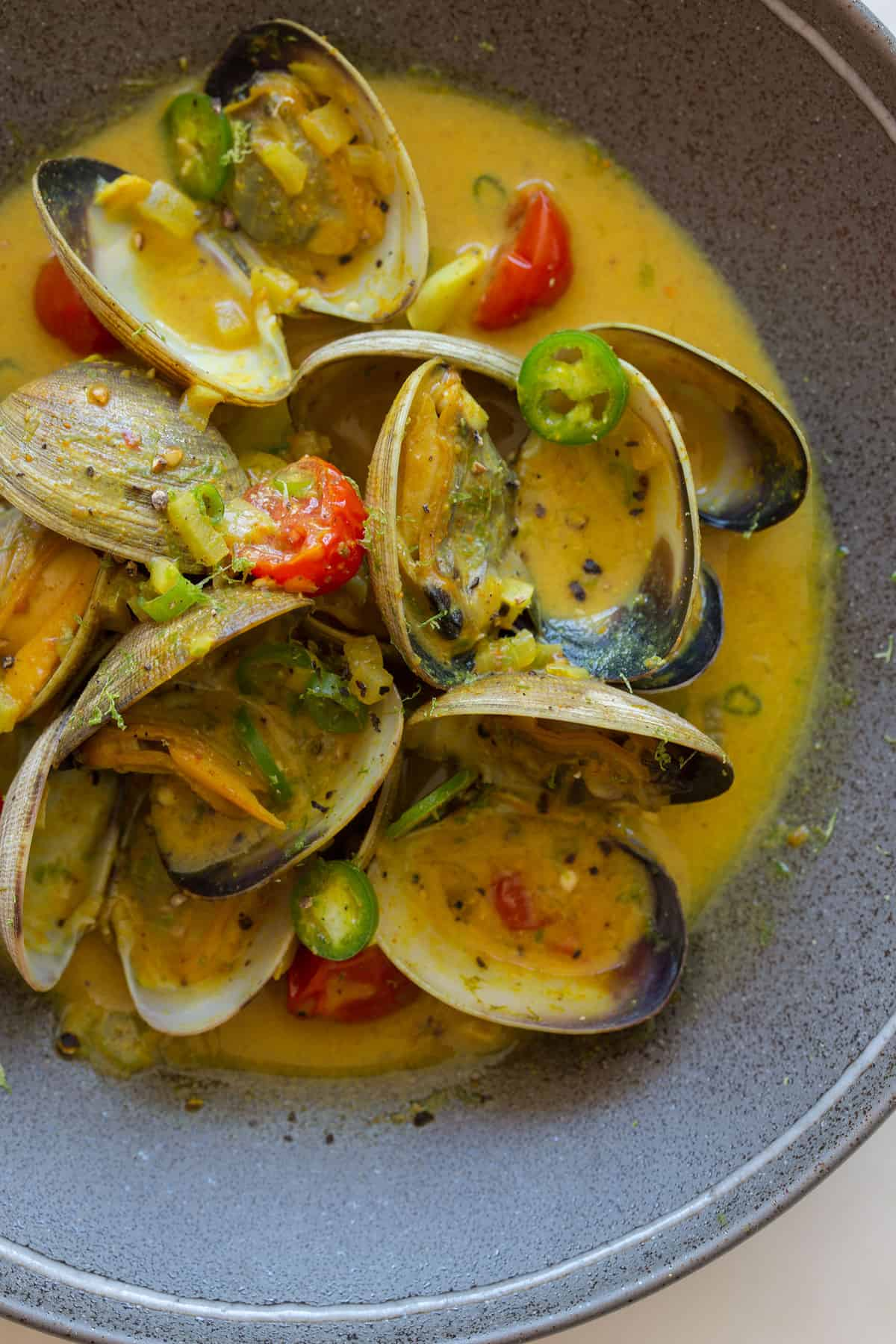 curry thai green curry coconut green curry mussels recipe broth green ...