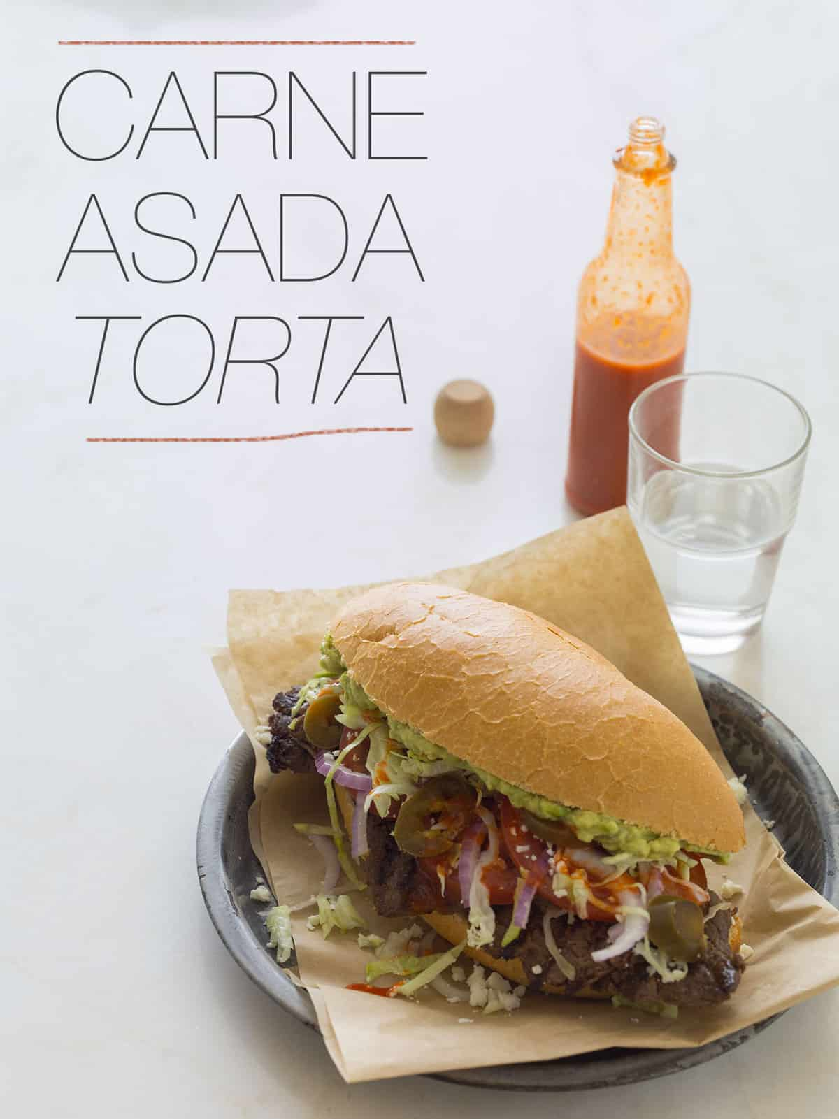 Carne Asada Torta | Epic Sandwich recipe | Spoon Fork Bacon