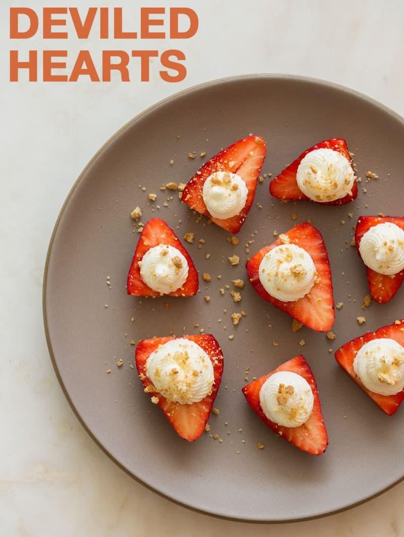 Deviled Hearts recipe