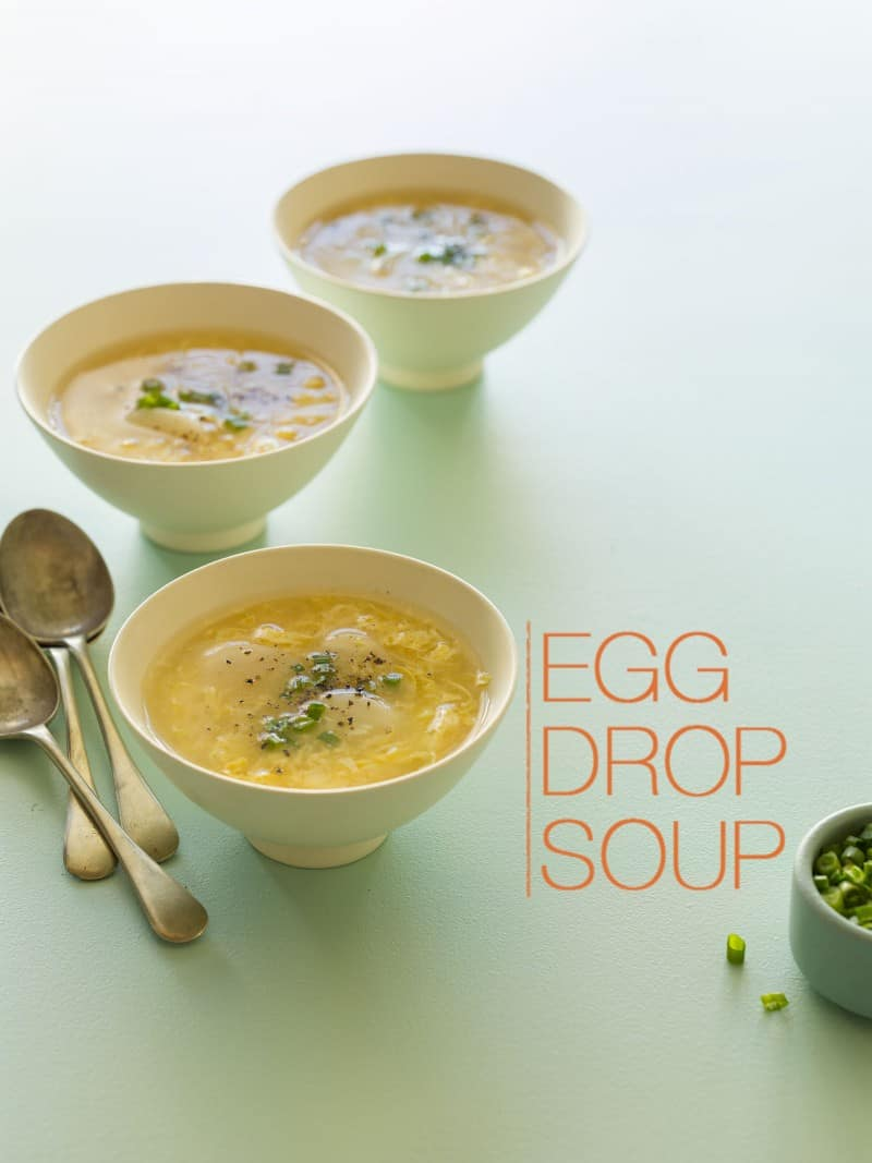 A recipe for Egg Drop Soup.