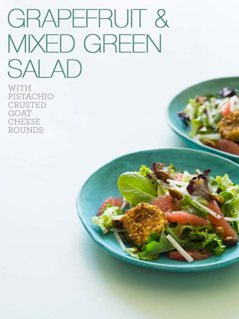 Grapefruit and Mixed Green Salad recipe.
